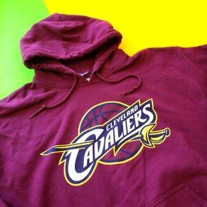 Vintage NBA Team Cleveland Cavaliers hoodie